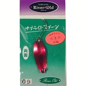リバーオールド(RiverOld) サテライトベスパ 3.2g #9 メタリックレッド