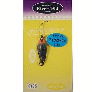 リバーオールド(RiverOld) マイクロベスパ 1.6g #03 ブラック(ファイヤーテール)