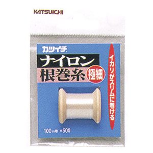 カツイチ(KATSUICHI) ナイロン根巻糸 極細 極細