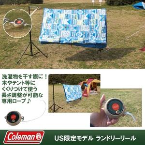 Coleman(コールマン) ランドリーリール 620mm アウトドアキャンプ用洗濯物干しロープ