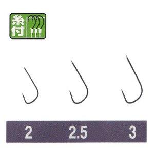 オーナー針 金 モロコ(糸付) 3号-0.4 20680