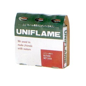 ユニフレーム(UNIFLAME) ガスカートリッジ(3本) 650028