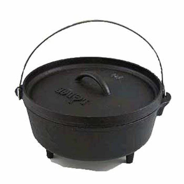 LODGE(ロッジ) キャンプオーブン10インチ 10CO2 ダッチオーブン