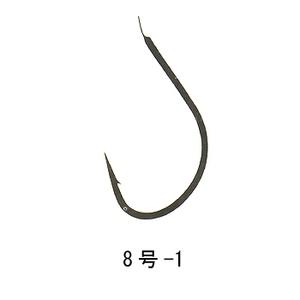 がまかつ(Gamakatsu) イワナ 糸付 6本入 釣8号ハリス1 青 11052