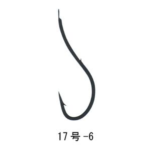 がまかつ(Gamakatsu) イソメカレイ 糸付 釣17号-6 イソメカラー 11082