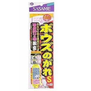 ささめ針(SASAME) ボウズのがれ 波止釣りの巻き(ヤマメ、ケン付丸セイゴ) LL 金、赤 X-001