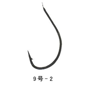 がまかつ(Gamakatsu) 3H 糸付 フナ鈎 9号-2 茶 11168
