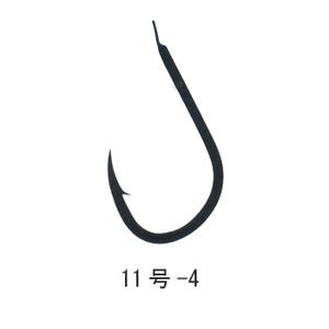 がまかつ(Gamakatsu) 伊勢尼 (糸付45cm) 鈎11/ハリス4 黒 11206