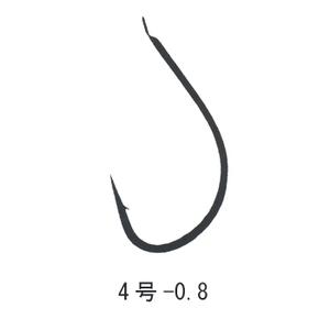 がまかつ(Gamakatsu) 海たなご 糸付 鈎4/ハリス0.8 金 11218
