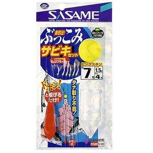 ささめ針(SASAME) ぶっこみサビキセット(小アジ丸軸 小アジ胴打) S-500
