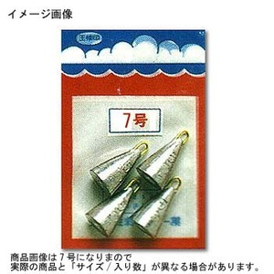 第一精工 パックオモリ釣鐘型20号 23084