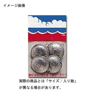 第一精工 パックオモリ円盤型8号 23058 ガン玉・割ビシ・オモリ