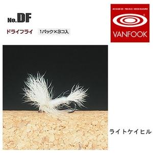 ヴァンフック(VANFOOK) ドライフライ #16 ライトケイヒル DF-1601