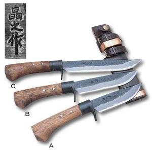 昌之晶之作 槌目剣鉈 150