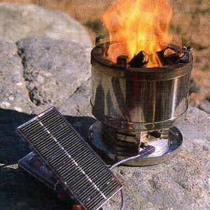 【送料無料】A&F COUNTRY(エイアンドエフカントリー) ソーラーパワーサバイバルストーブ 00800001