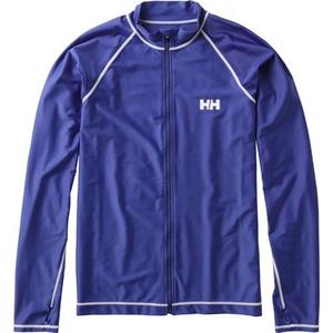 HELLY HANSEN(ヘリーハンセン) HE81715 L/S FZ Rashguard(フルジップフラッシュガード) HE81715 メンズ&男女兼用ラッシュガード