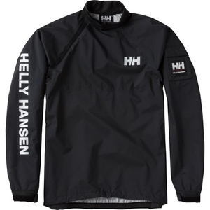 【送料無料】HELLY HANSEN(ヘリーハンセン) HH11703 TEAM SMOCK TOP 2 XL KO(ブラックオーシャン)