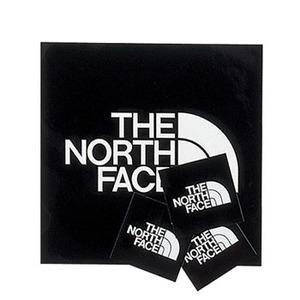 THE NORTH FACE(ザ・ノースフェイス) TNFステッカー 95×95mm ブラック(K) NN-9719