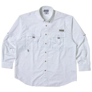 Columbia(コロンビア) バハマIIロングスリーブシャツ XL 100(White)