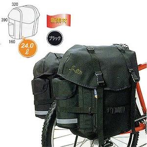 【送料無料】オーストリッチ(OSTRICH) S-83/ペア サイドバッグ ブラック