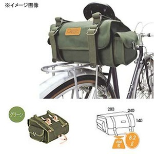 【送料無料】オーストリッチ(OSTRICH) S-2 サドルバッグ グリーン