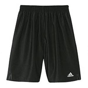 adidas(アディダス) X5756 KIDS ベーシックロングショーツ 130 ブラックxホワイト 342366