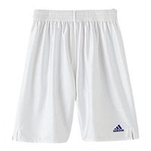adidas(アディダス) X5756 KIDS ベーシックロングショーツ 140 ホワイトxロイヤル 342368