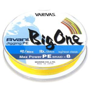 【送料無料】モーリス(MORRIS) バリバス アバニ マックスパワー ジギングPE ビッグワン 300m 4号/64lb 10m×5色