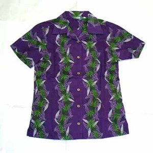 A5 YUZEN SHIRT-HEMP Women's