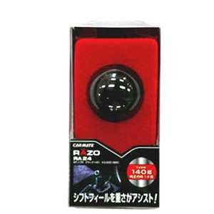 RAZO(レッツォ) MTノブR ブラック140 RA24 シフトノブ