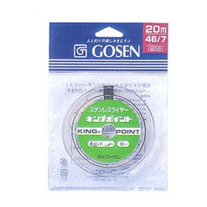 ゴーセン(GOSEN) キングポイント20m GWN-720C 船ハリス・その他