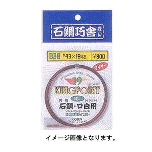 ゴーセン(GOSEN) 石鯛ハリス(19本撚) IWN-10 イシダイ&クエ用品