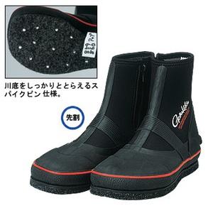 がまかつ(Gamakatsu) GM-859 鮎タビ(フェルトスパイク・レギュラー) 24cm ブラック×レッド