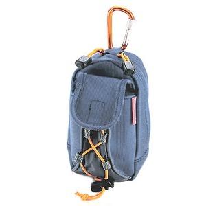 キャプテンスタッグ(CAPTAIN STAG) 遊々探検隊 ポケット付携帯電話ケース ブルー M-5653