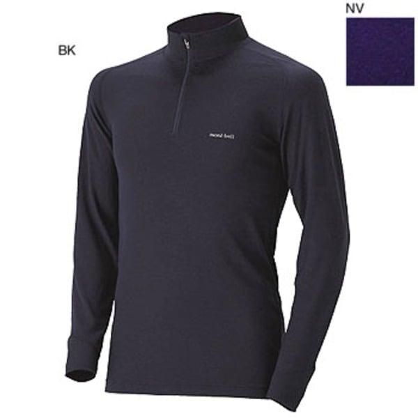 モンベル(montbell) スーパーメリノウールM.W.ハイネックシャツ Men's 1107238 メンズ&男女兼用長袖アンダーシャツ