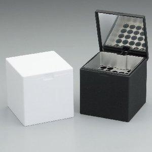 ウィンドミル(WIND MILL) ハニカムキューブ卓上灰皿 無地ブラック 601-1002