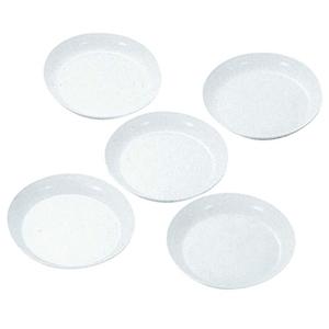 キャプテンスタッグ(CAPTAIN STAG) 抗菌ラウンドプレート20cm5枚組 M-9520 メラミン&プラスティック製お皿