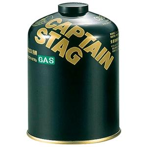 キャプテンスタッグ(CAPTAIN STAG) レギュラーガスカートリッジCS-500 M-8250 キャンプ用ガスカートリッジ