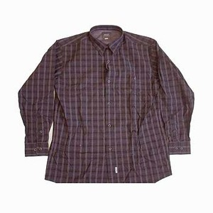 Jack Wolfskin(ジャックウルフスキン) クールマックスダークチェックシャツ Men's
