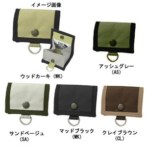 THE NORTH FACE(ザ・ノースフェイス) Dot Coin Pocket PET 9x9cm アッシュグレー(AS) NM08703