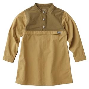 【送料無料】THE NORTH FACE(ザ・ノースフェイス) PULLOVER DRESS KIDS'(プルオーバー ドレス キッズ) 100cm BK(ブリティッシュカーキ) NPG71707