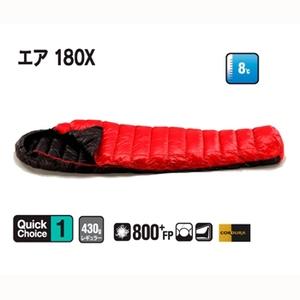 【送料無料】イスカ(ISUKA) エア 180X レッドxブラック 137419