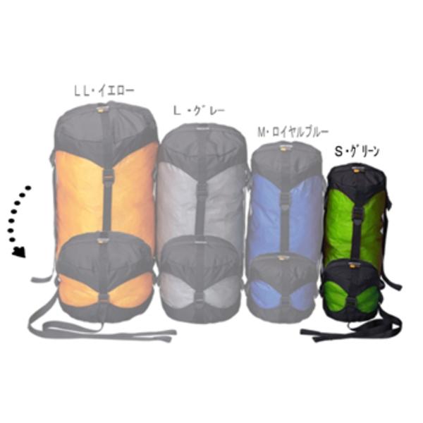 イスカ(ISUKA) ウルトラライトコンプレッションバッグ S 339102 コンプレッションバッグ