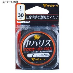がまかつ(Gamakatsu) 鮎中ハリス フロロ 0.6号 ナチュラルグレー L003