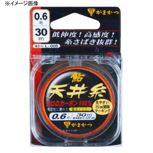 がまかつ(Gamakatsu) 鮎天井糸 フロロ L005 天糸