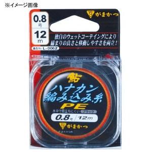 がまかつ(Gamakatsu) 鮎ハナカン編み込み糸 PE 0.4号 ブラック L006Z
