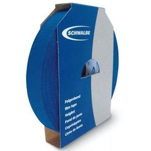 SCHWALBE(シュワルベ) 【正規品】ファブリックリムテープ 50m x19mm ブルー 880001