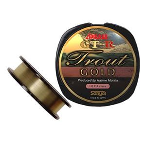 サンヨーナイロン GT-R Trout GOLD 100m 5LB シャンパンゴールド (ドンピン) 1196050