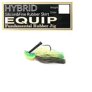 プロズファクトリー EQUIP HYBRID(エキップ ハイブリッド) 3/8oz FS109ライムティップチャート
