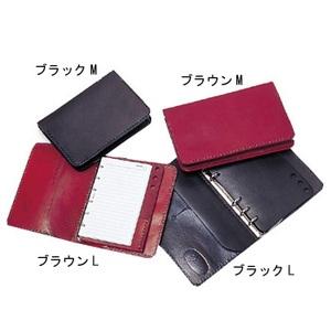 【送料無料】遊牧舎工房 システム手帳 M ブラック 00320009001005